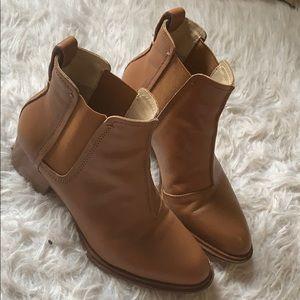 Rag & Bone Walker Leather Block Heel Chelsea boots